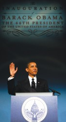 IMAGE: Obama to be sworn in today