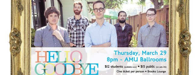 Hellogoodbye and The Fatty Acids booked for spring concert