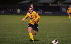 Women's soccer had no trouble scoring in weekend split