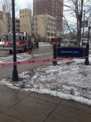 Johnston Hall reopened after gas leak causes evacuation