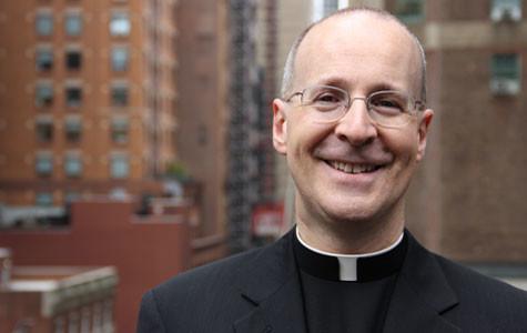 The Rev. James Martin announced as commencement speaker