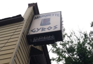 Marquette Gyros, at 1607 W. Well St., recently announced that it will be closing its doors for good.