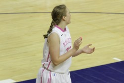 Women's basketball traveled to Europe for exhibitions games