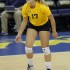 Junior libero Lauren Houg will look to hold down the back line for the new-look Golden Eagles in 2015. (Photo: Valeria Cardenas)