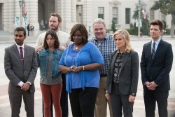 'Parks and Recreation' ends on trademark sentimentality