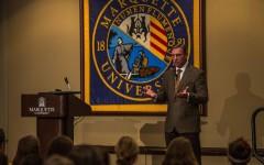 Former patrolman Kevin Briggs encourages active listening during suicide prevention