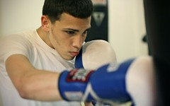 Feliciano steps into professional ring