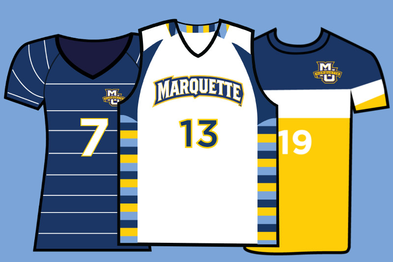 Marquette jerseys, ranked