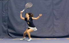 Tennis teams still finding footing, each split weekend matches