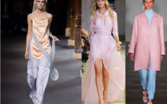 Pale pantone in style for spring