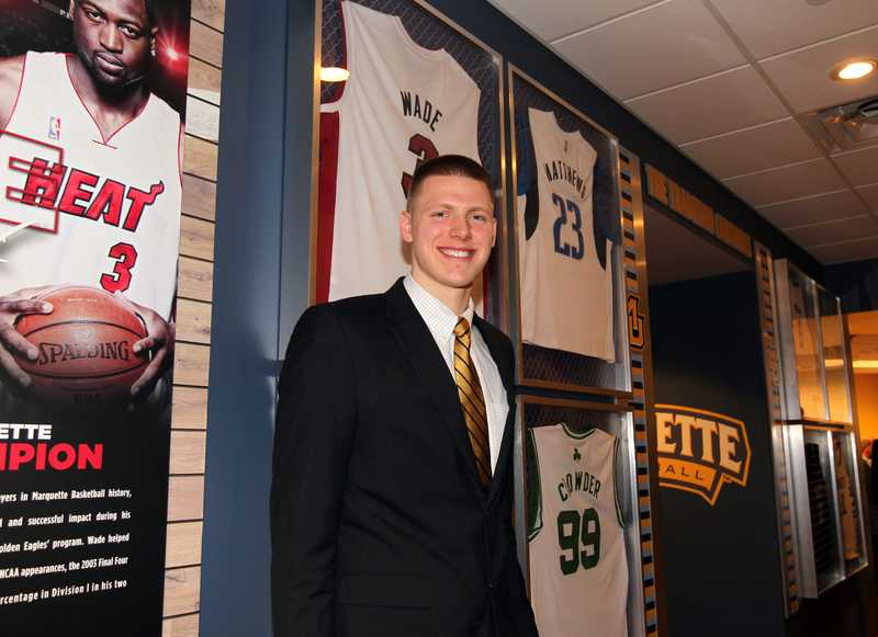 Henry Ellenson drafted by the Detroit Pistons