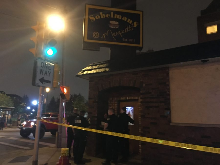Shots reportedly fired outside Sobelman's, four students sustain minor injuries