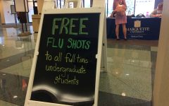 University offers free flu shots to full-time students and employees