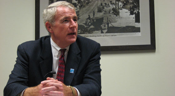 Mayor Barrett goes On the Issues to discuss streetcar plan