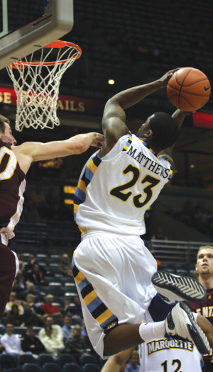 Wesley Matthews finds home near alma mater, playing alongside NBA Most Valuable Player