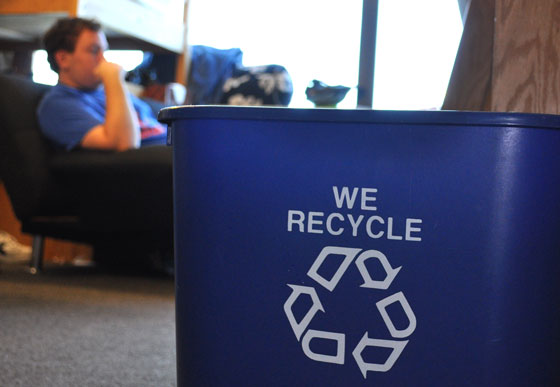REVIVE is a new student recycling initiative designed to reinvent plastic recycling on campus.