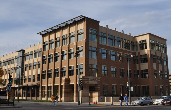 The Office of Undergraduate Admissions is located in Zilber Hall.