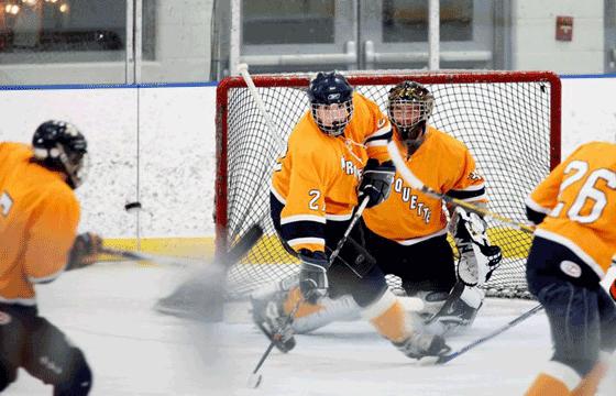 Club Hockey. Photo courtesy of Richard Bernett
