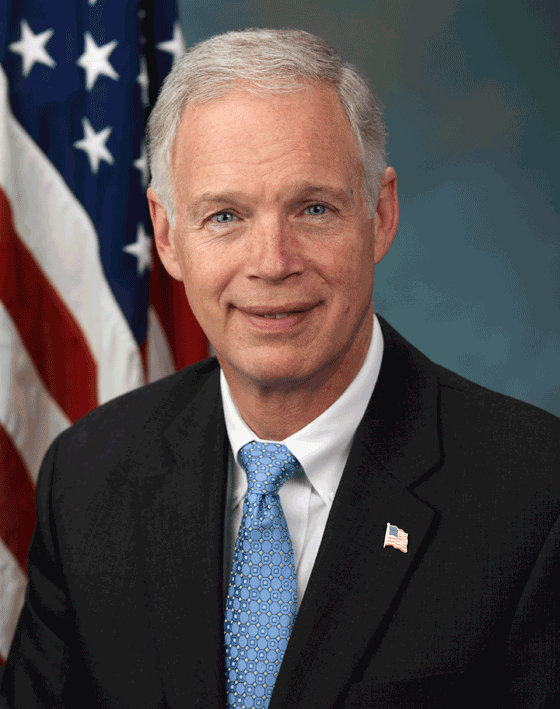 Sen. Ron Johnson of Wisconsin. photo courtesy of ronjohnson.senate.gov