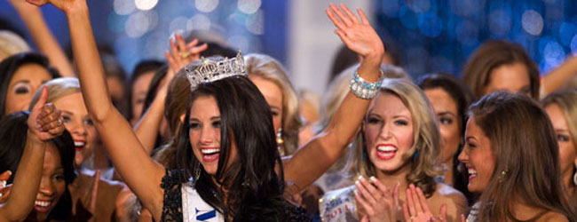 A Wisonsonite from Kenosha won the Miss America title.