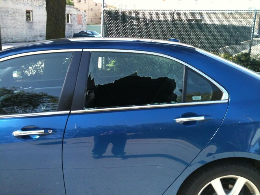 College of Communication senior Eric Ricafrente was the victim of one of several recent car break-ins. Photo courtesy of Eric Ricafrente.