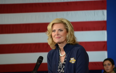 Ann Romney appeals to female voters during visit to Marquette