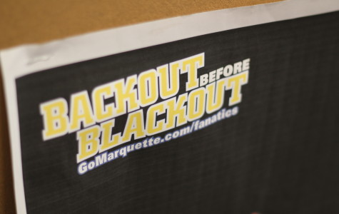 MU to students: 'Backout Before Blackout'