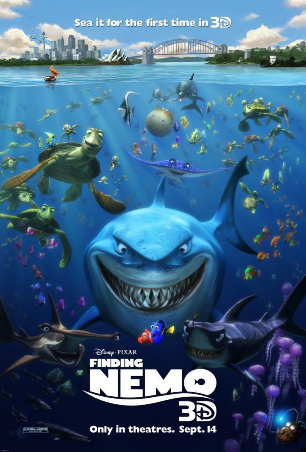 Finding Nemo returns to movie theaters, albeit in 3-D. Photo via news.moviefone.ca.
