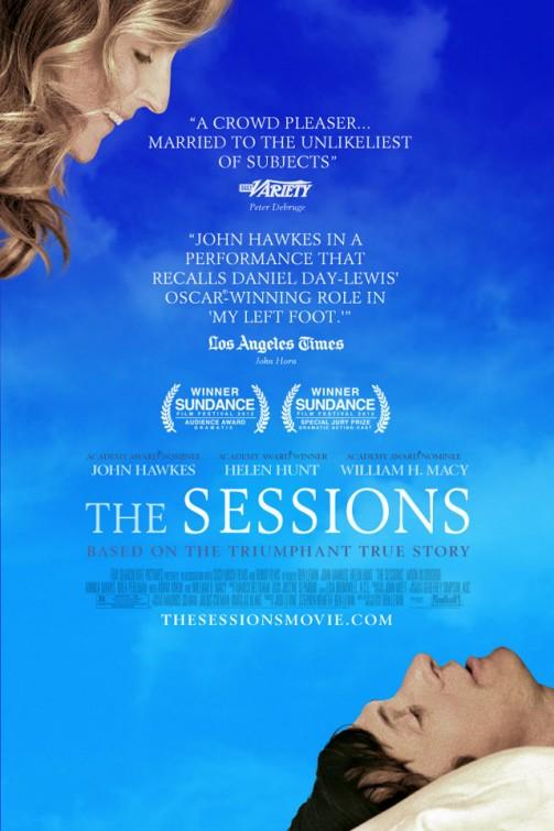 The Sessions is the closing film of the Milwaukee Film Festival. Photo via impawards.com