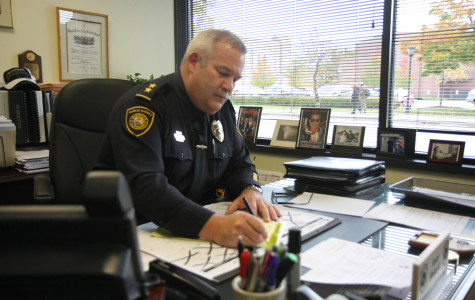 DPS Chief Rickard dedicates 21 years of service