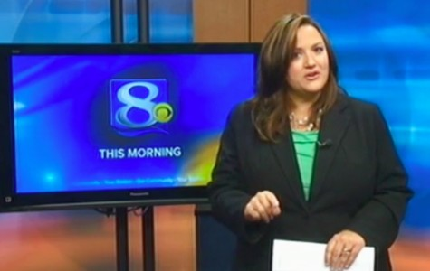 This frame grab provided by WKBT-TV in La Crosse, Wis., shows television anchorwoman Jennifer Livingston Tuesday, Oct. 2, 2012, during her broadcast responding to a viewer who wrote her an email criticizing her weight. (AP Photo/Courtesy WKBT-TV)