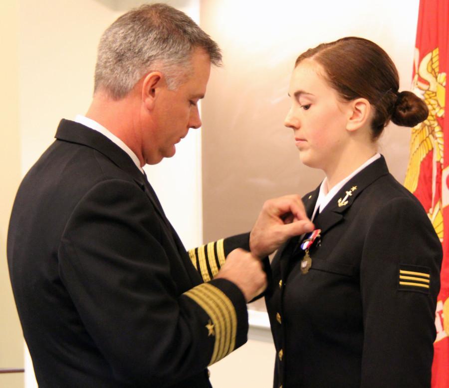 Senior awarded Bronze Cross