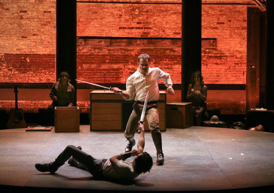 Cymbeline is one of the Bards most complex plays, both in staging and storytelling. Photo courtesy of Ari Mintz.