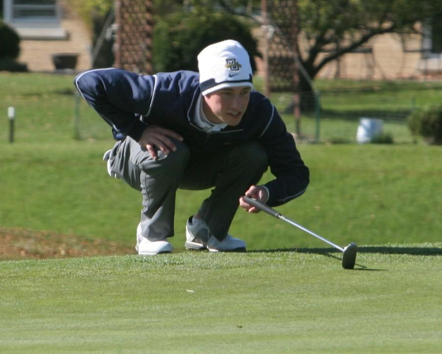 Junior Corey Konieczki was glad to be a part of the golf team's big win.