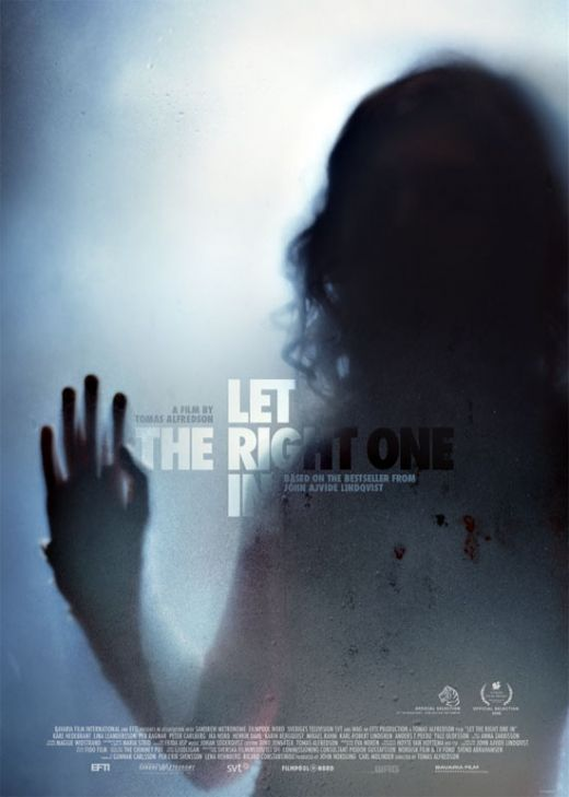 Let the Right One In is just one of the Marquee sections favorite horror flicks. Photo via impawards.com