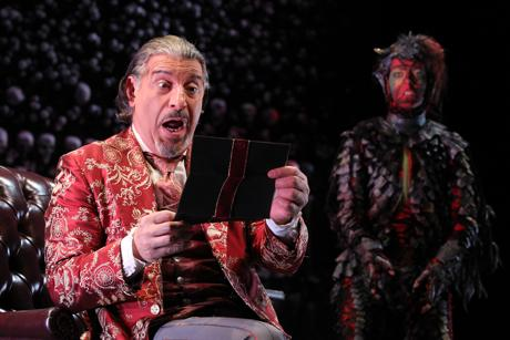 Demons take center stage in the Pabst Theatres upcoming presentation of The Screwtape Letters. Photo courtesy of Gerry Goodstein.
