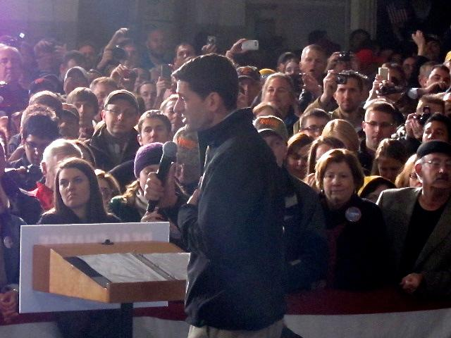Paul Ryan holds final rally in MKE