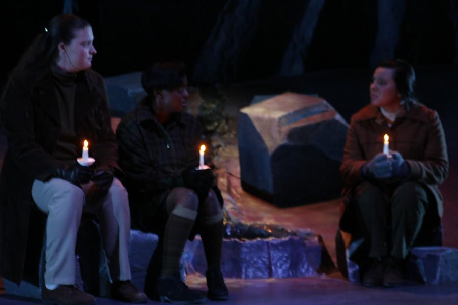 The Women of Lockerbie opens at the Helfaer Theatre on November 8. Photo by Rebecca Rebholz/ rebecca.rebholz@mu.edu