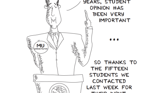 EDITORIAL: Stop pretending to value student opinion; mean it