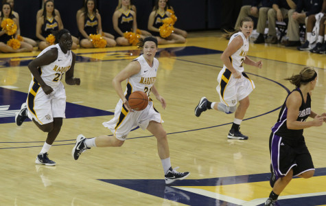 Marquette captures first conference home win