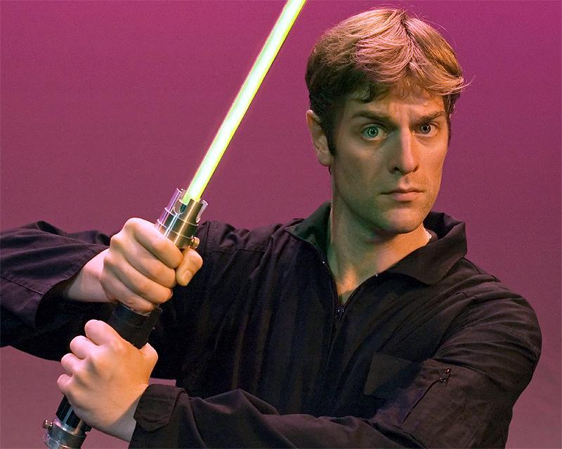 Charles Ross is the mastermind behind the One-Man Star Wars Trilogy. Photo via onemanstarwars.com