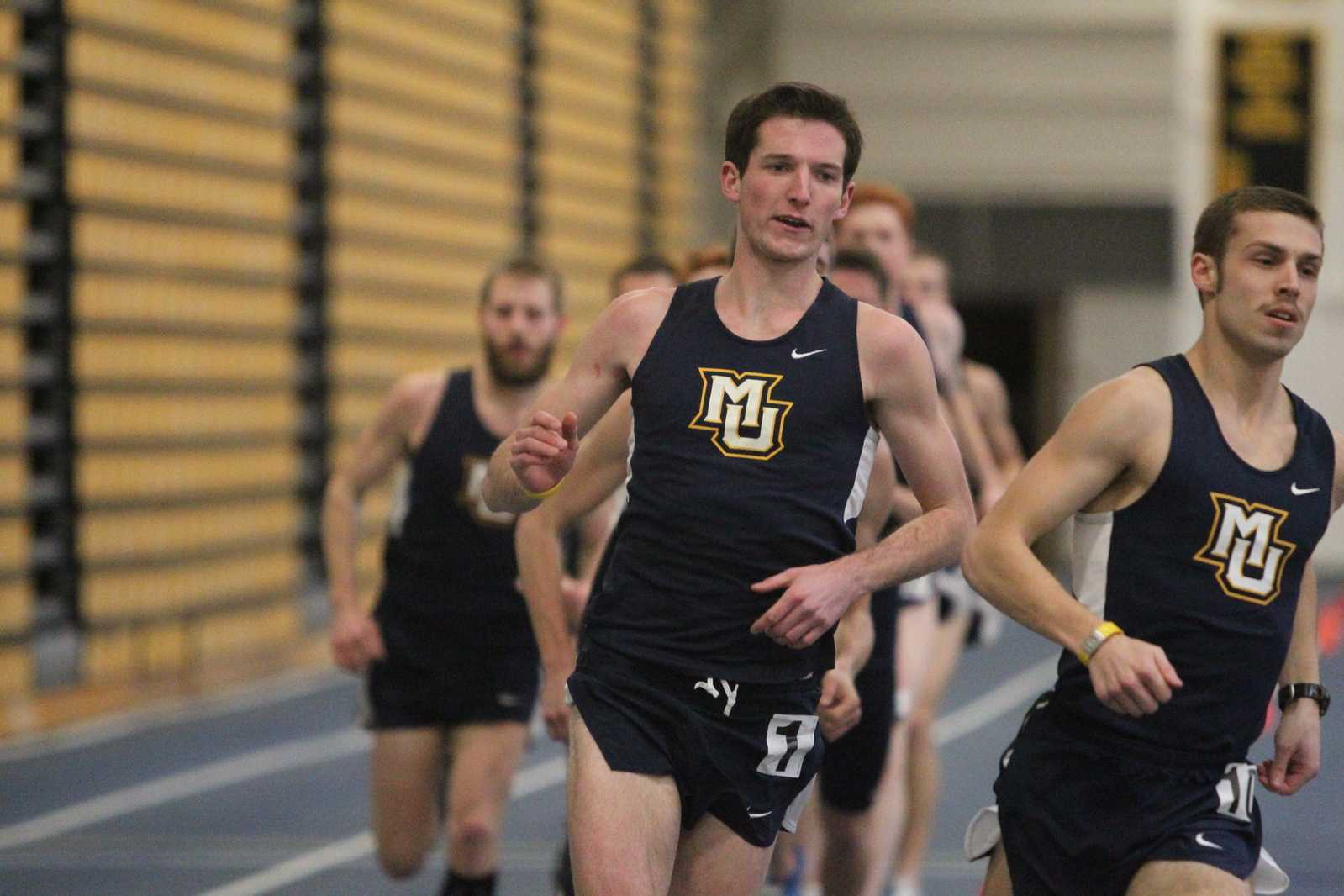 Jack Hackett, Marquette's top runner, graduated last year.