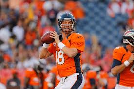 Peyton Manning has struggled in cold weather playoff games. Courtesy of broncotalk.net