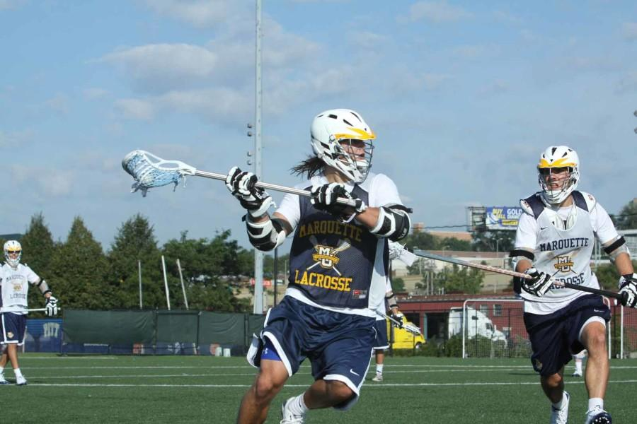 Lacrosse faces familiar foes in at Hofstra.