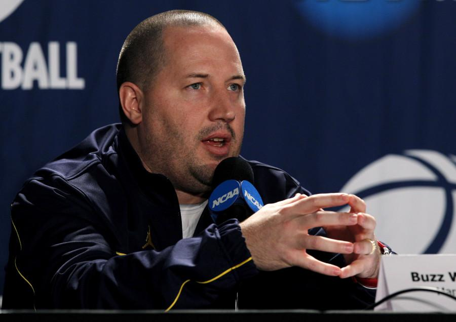 Former Marquette coach Buzz WIlliams left for Virginia Tech Friday (AP Photo/Matt Cilley).