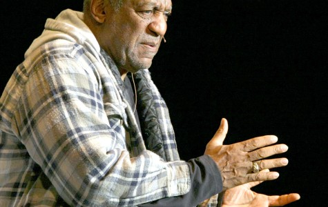 Bill Cosby performs at the F.M. Kirby Center in Wilkes-Barre, Pa., Friday, April 5, 2013. (AP Photo/The Citizens' Voice, Kristen Mullen)