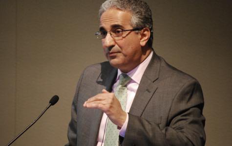 Egyptian diplomat speaks on democracy