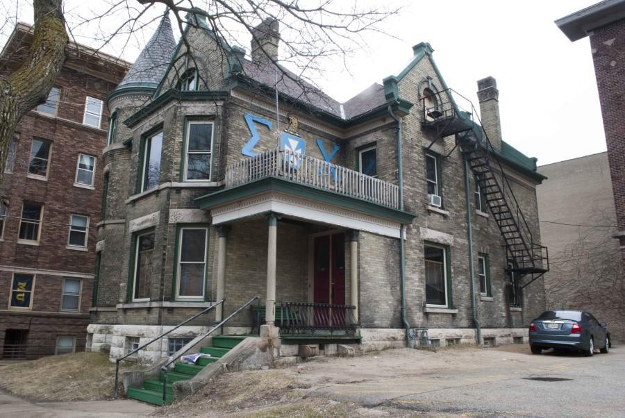 The Sigma Chi house is located at 1327 W. Kilbourn Ave. Photo by Rebecca Rebholz/ rebecca.rebholz@mu.edu