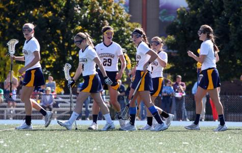 Marquette falls to Johns Hopkins 16-2 in season opener