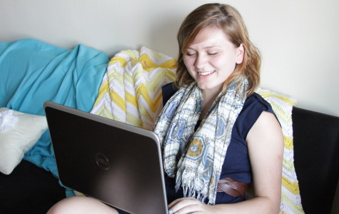 Freshman's blog part helps enhance social media efforts